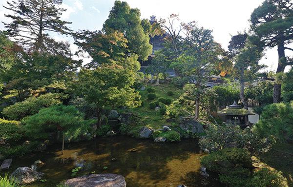 宮御殿庭園